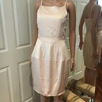 French Connection Blush Pink Wedding Guest Formal Wiggle Dress 10 S Photo