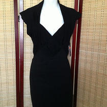 French Connection Dress Black Size 12 Photo