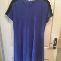 French Connection Dress Size 14 Royal Blue Photo