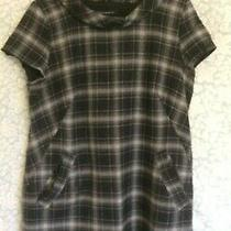 French Connection Dress/tunic Size 16 Wool Blend/lined/check Photo