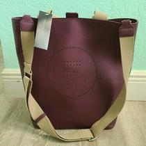 French Connection Maxine Bucket Tote Berry Blush Photo