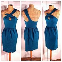 French Connection Nwt Sexy Mermaid Patrol Asymetrical Cocktail Dress 4 210 Photo