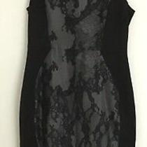 French Connection - Pencil Dress - Black - Excellent Condition Photo