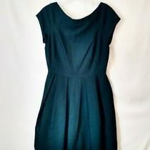 French Connection Retro 1950s Dress Midnight Blue Size 6 Photo