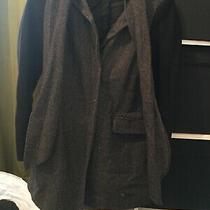 French Connection Size 6 Tweed Style Duster Coat (E8) Photo