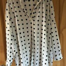 French Connection Size M Floaty Pop Over Shirt Excellent Condition Photo
