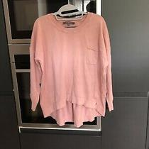 French Connection Soft Knit Blush Pink Sweater in Size Xl Photo