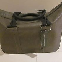 French Connection Tote Computer Bag Charcoal Taupe Black New With Tags Photo