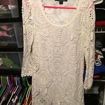 French Connection White Dress Size 4 Photo