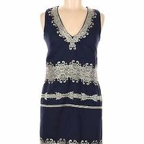 French Connection Women Blue Cocktail Dress 2 Photo