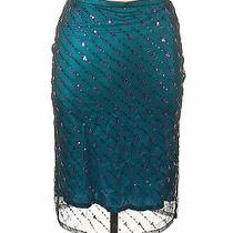 French Connection Women Green Casual Skirt 14 Photo