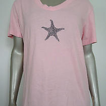 Fresh Produce Blush Starfish Knit Top S Photo