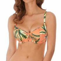 Freya Birds in Paradise As6861 W Underwired Padded Bikini Top Cantaloupe 30ff Cs Photo
