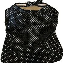 Freya Halter Black & White Polka Dot Tankini Top 32g Photo