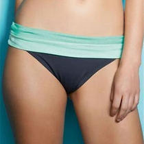 Freya Samba Fold Over Brief Bottoms Grey Graphite 3178 Size Xs 8 Rrp 22 Photo