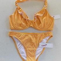 Freya Sunset Bikini Set - Size 10e 32e   Rrp 130 Photo