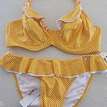 Freya Sunset Bikini Set - Size 12e 34e   Rrp 130 Photo