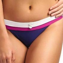 Freya Swim Revival Rio Wide Tab Hipster Bikini Brief Indigo Purple 3224 Size M Photo