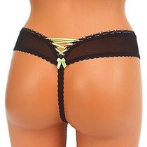 Freya Womens Thong Panties Lace String Knickers Culotte Dentelle Xl Extra Large Photo