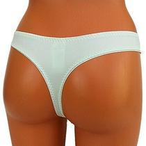 Freya Womens Thong Panties String Knickers Culotte Underwear L Large Mint Green Photo