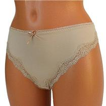 Freya Womens Thong Panties String Knickers Invisible Nude Lace Size L Large 7 Photo