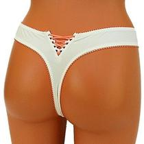 Freya Womens Thong Panties String Knickers Lace Underwear Size 7 L Large Photo