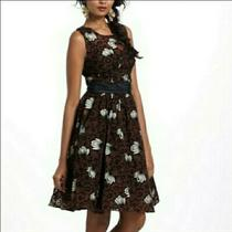 Frock by Tracy Reese Anthropologie Chrysanthemum Tea Dress - Size 8 Photo