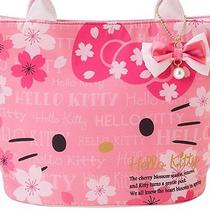 From Japanhello Kitty Handbagsakura Cherry Designnew Photo