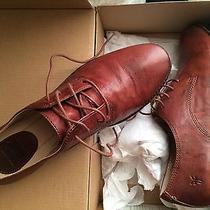 Frye Anna Oxfords Size 10m Cognac Photo