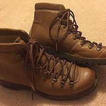 Frye Archie Hiker Boots Mens Fawn Tan Leather Us Size 9d Medium Free Shipping Photo