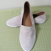 Frye Beige Suede Slip on Shoes Soft Suede Flats Women's 8.5 Photo