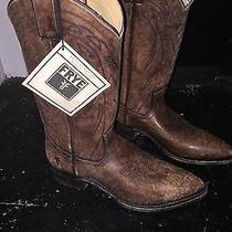 Frye Billy Boots Cognac Nib Size 8.5 Photo