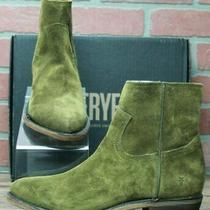 Frye Billy Inside Zip Bootie 70806 Casual Dress Boots Green Shade Khaki Sz 8.5 M Photo