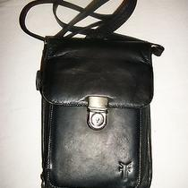 Frye Black Leather Organizer Crossbody Purse Unwanted Gift Photo