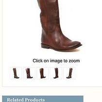 Frye Boots Paige Tall Cognac Photo