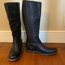 Frye Boots Women's Size 9 With Ankle Buckle and Back Zip Photo