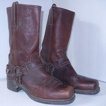 Frye Brown Belted Men's Biker Harness Boots Usa 11 N or M  Usa  Photo