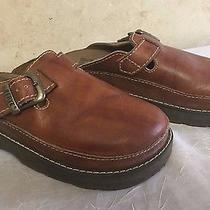 Frye Brown Leather Tusket Clog Mule Slip on Shoe Nice - 7 M P13 Photo