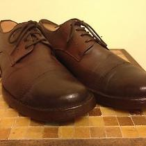 Frye Brown Two-Tone Oxfords - Men's Sz 10.5 Restored Great Condition Photo
