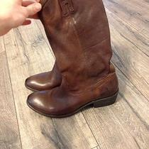 Frye Brown Western Boots Photo