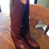 Frye Button Boots. Melissa Button Boots (Cognac) Photo