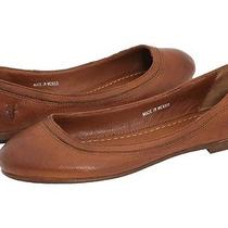 Frye Carson Ballet Cognac 8.5 New in Box Photo