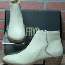 Frye Carson Piping 78257 Bootie - Women's Off White Shoes Size 7.5 M Photo