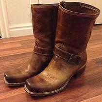 Frye Cavalry Antique Cognac Size 7 Boots Photo