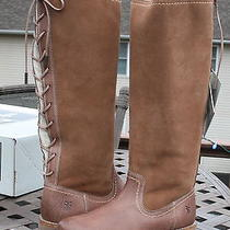 Fryecelia Shearling Back Lacewomans Bootus 7.5light Brown (Fawn)76675 Photo
