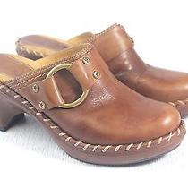 Frye Charlotte Ring in Tan Womens Clog  Mule Size Us 6.5 Photo