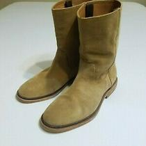 Frye Chris Pull on Boots Wheat Color Mens Size 8 D Photo