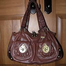 Frye Clovertab Clover Tab Dark Brown Leather Satchel Handbag  Photo