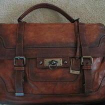 Frye Cognac Briefcase Photo