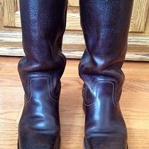 Frye College Boots Size 6 Brown Women Photo